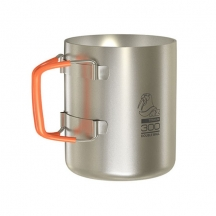 Термокружка NovayaZemlya TITANIUM DOUBLE WALL MUG 300 ML