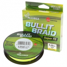 Рыболовный шнур allvega bullit braid