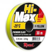 Зимняя леска MomoiFishing HI-MAX F-YELLOW